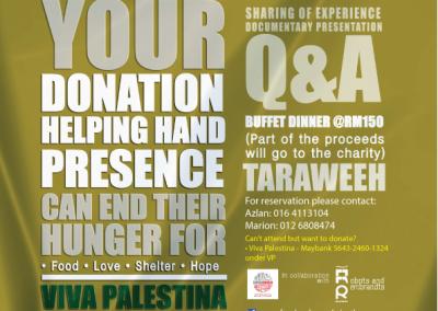 Poster for Viva Palestin