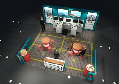 Satumarin exhibition booth